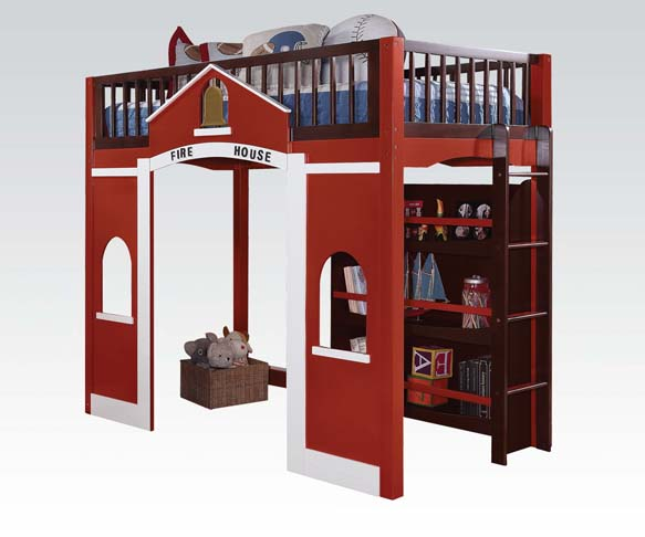 Fire House Loft Bed Stage Design