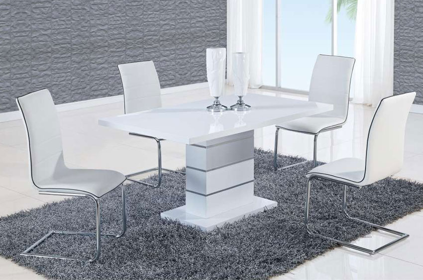 D470dt D490dc Wh Gl Stage Design Square Modern Coffee Tables Miami Furniture