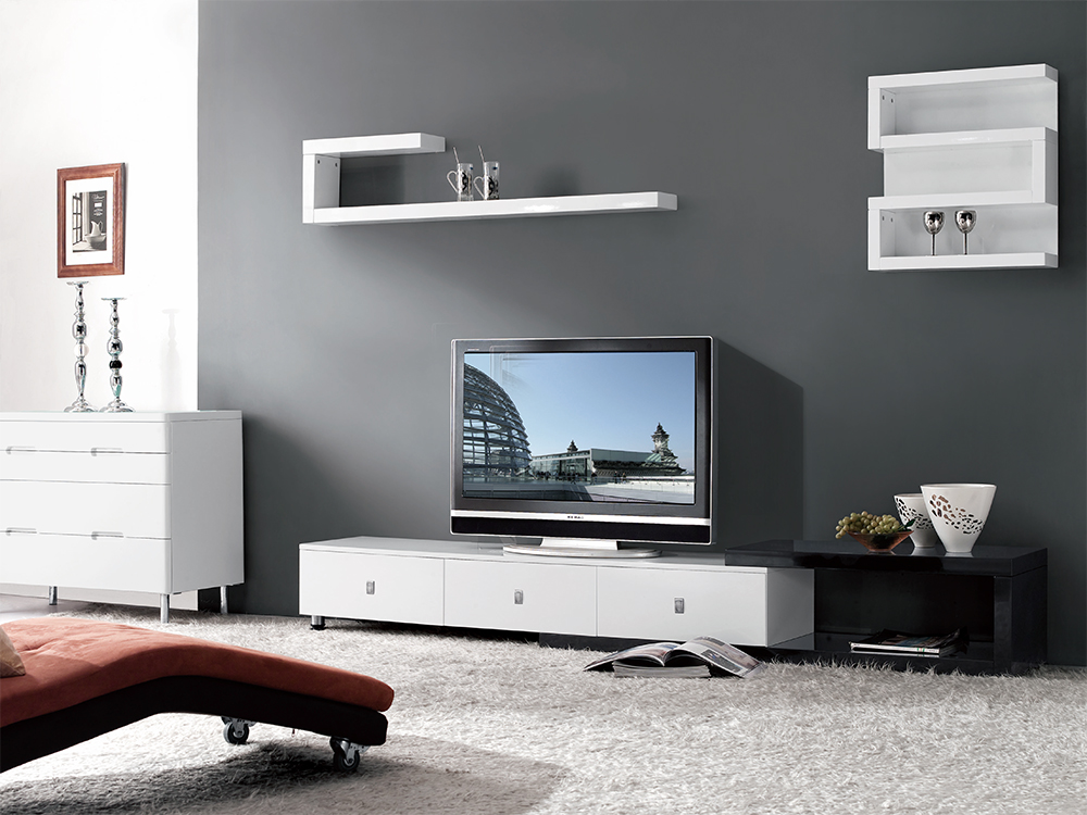 Modern Expandable Tv Stand Stage Design Miami Furniture