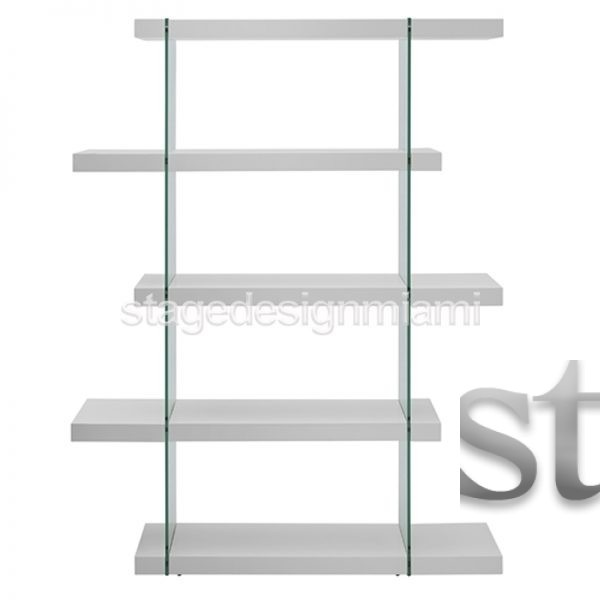 stanza shelf white